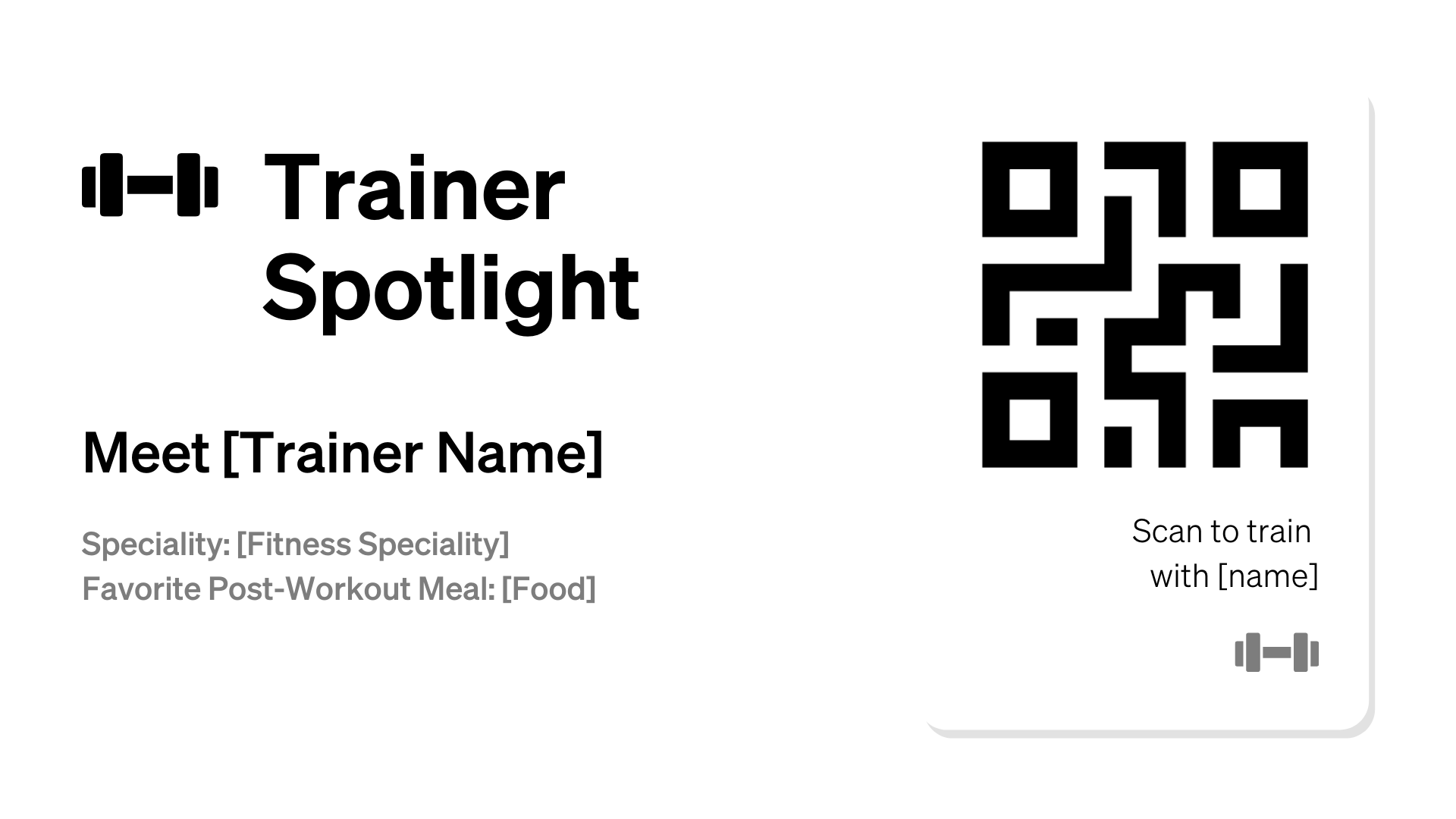Trainer Spotlight